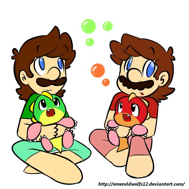baby mario and luigi drawings wwwpixsharkcom images