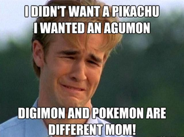 These Digimon Anime Memes are Super Funny: Dawson's Creek Digimon Meme