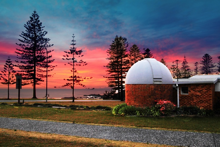 Another of my Dad's pics taken at the Observatory, Port Macquarie, Australia