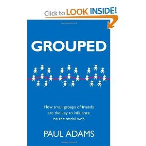 A remarkably good little book, recommended by Seth Godin (thanks, Seth). It does good job of illuminating the value of real relationships between people. Authentic small networks of people DO make the world go round. We are IT. Well worth a quick read, IMHO.
