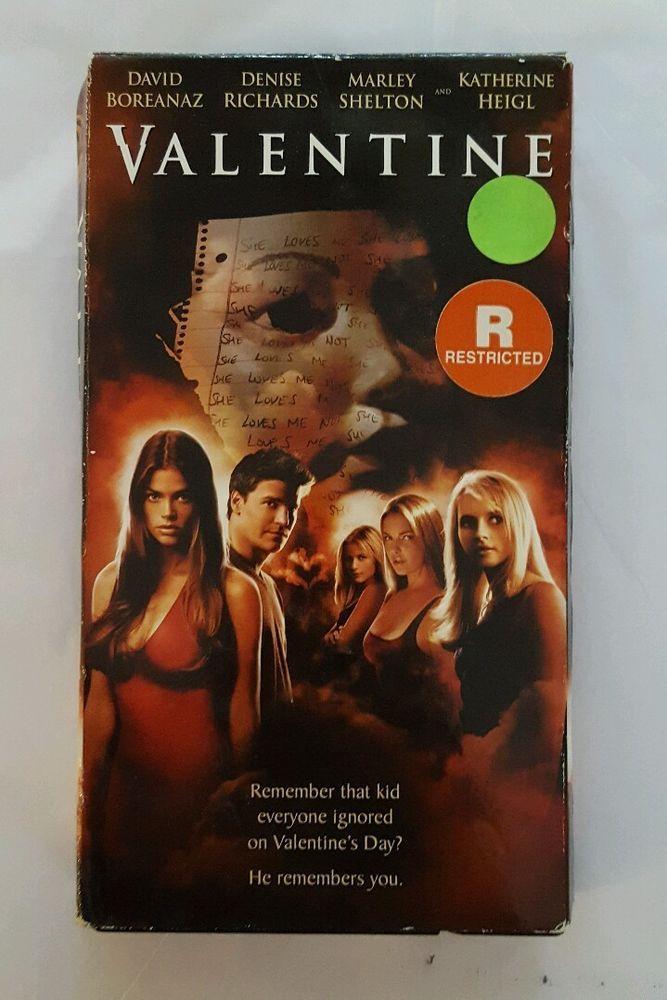 Valentine (VHS, 2001) David Boreanaz, Denise Richards in DVDs & Movies, VHS Tapes | eBay