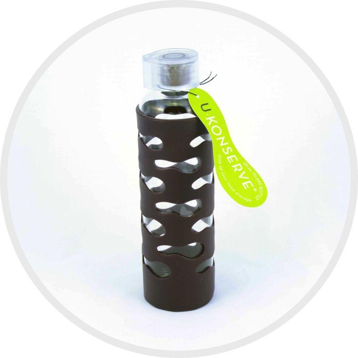 Glass Drink Bottle - 590ml
