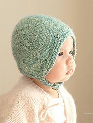 Ravelry: Leia #Knit #Bonnet #pattern by Mel Clark
