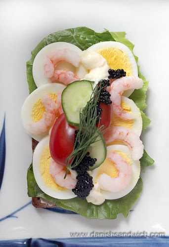 Smørrebrød Recipe List | Danish Open Sandwiches (Smørrebrød)