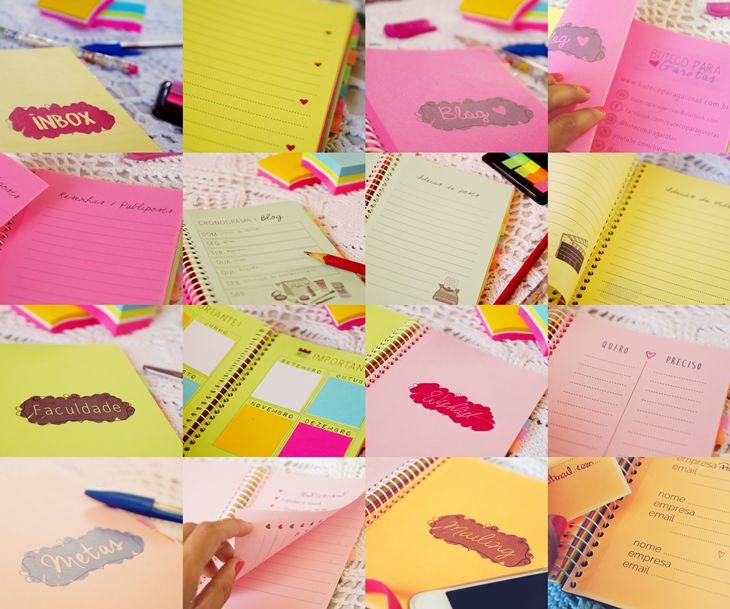 Buteco para Garotas : Meu caderno de organização ♥ Planner 2015