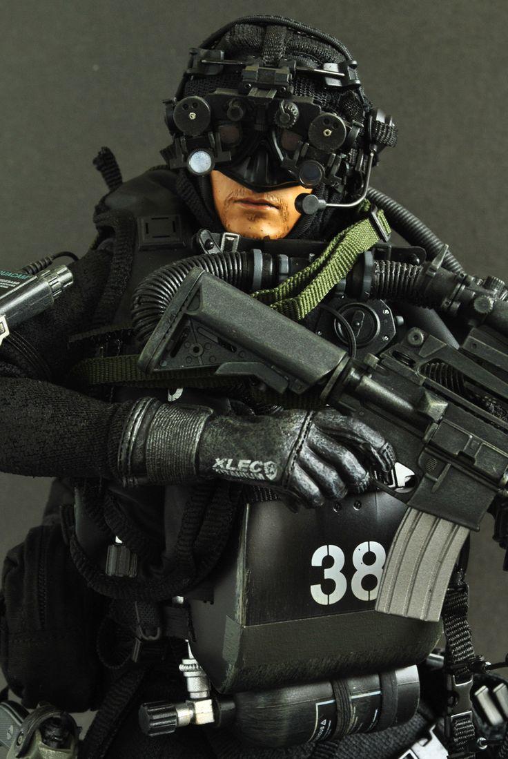 Hot toy-USSOCOM  Navy Seal
