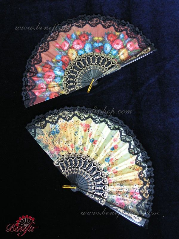 Fans in Spanish Style S 0006 | Dancewear by Patricia