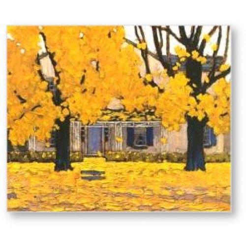 Lawren Harris - House In Autumn