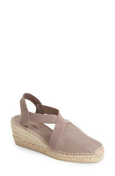 'Ter' Slingback Espadrille Sandal