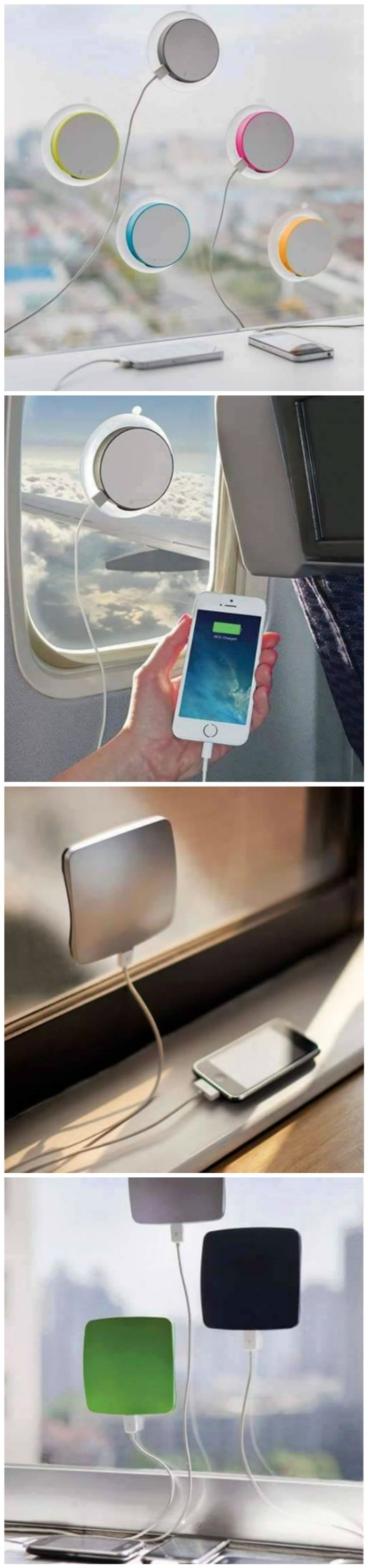 Window Mounted Solar Charger