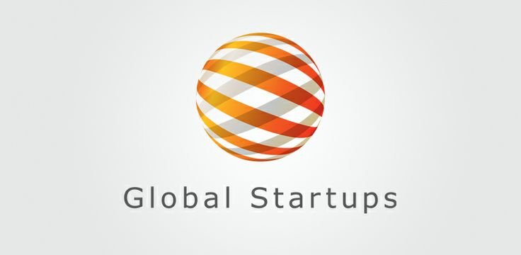 Global Startups Logo | Liquid Agency