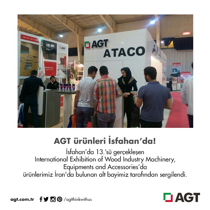 AGT ürünleri İsfahan'da! Yazının tamamı için: http://bit.ly/1Mkgo8n