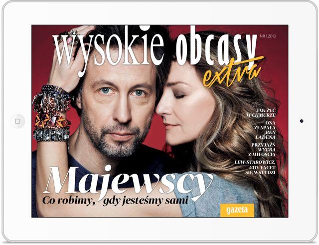 WO EXTRA. Ekskluzywne czasopismo dla kobiet. Klient: AGORA SA Wersja: iOS