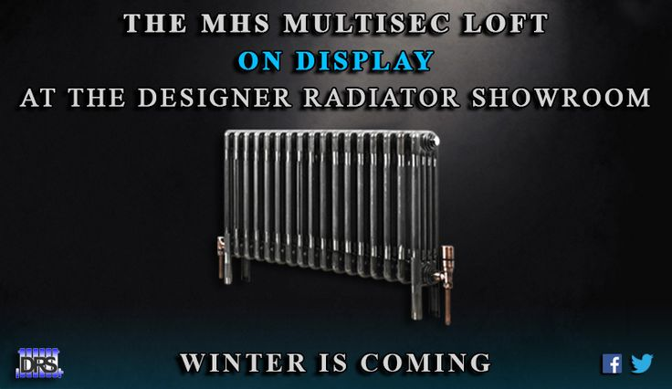 The Designer Radiator Showroom  Winter is Coming Competition