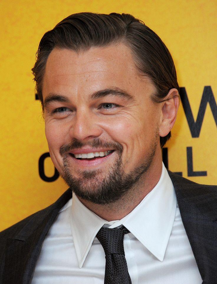 Leonardo DiCaprio, handsome as ever.