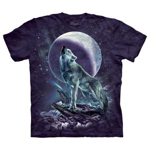 The Mountain  - Wolf Soloist Tee    Mikey needs a wolf shirt.