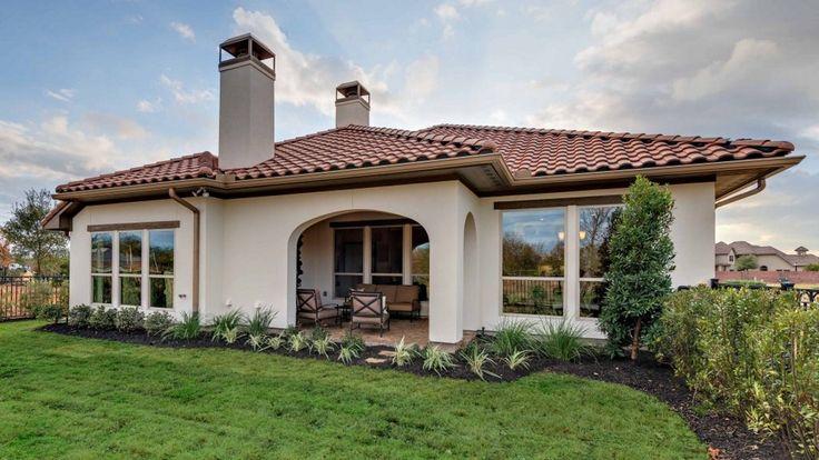 55 Patio Model Home Backyard