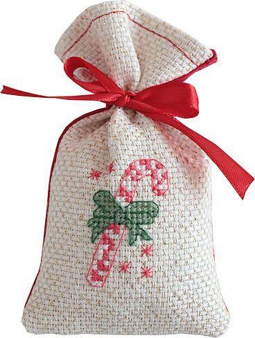 Stitchable Bag - Christmas Candy