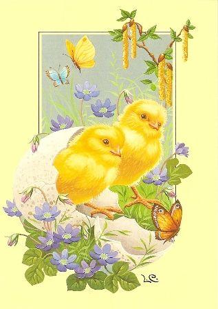 Glad Påsk Easter greetings