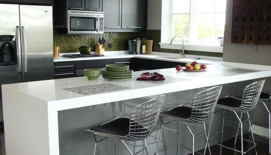 Kitchen peninsula | Kitchen ideas | Pinterest
