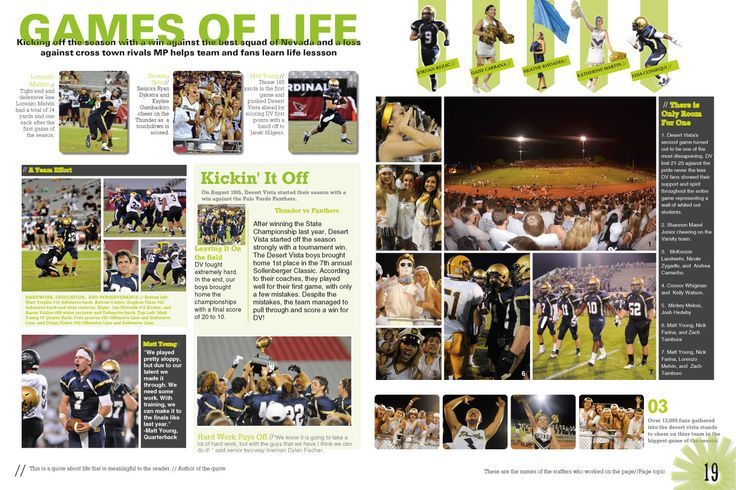 yearbook layout ideas google search yearbook
