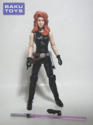 Star Wars 3.75 Mara Jade Black Series