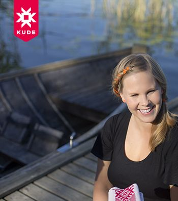 In this picture KUDE attitude can be felt. Does it make you smile too and think of the summer? We love it! www.kude.fi