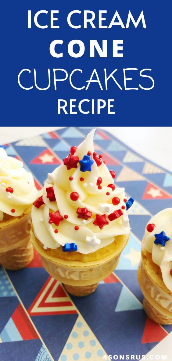Ice cream cone cupcakes are a festive dessert recipe perfect for any holiday occasion. Learn how to make creative cake m…