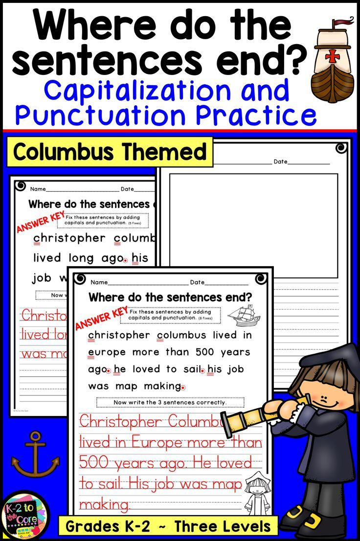 On The Lookout For A Primary Columbus Day Language Arts And History Activity Check Out This No Prep Writing Activities First Grade Lessons Elementary Writing