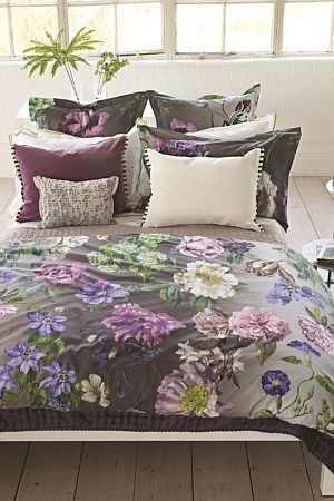Statement bed linen from Designers Guild