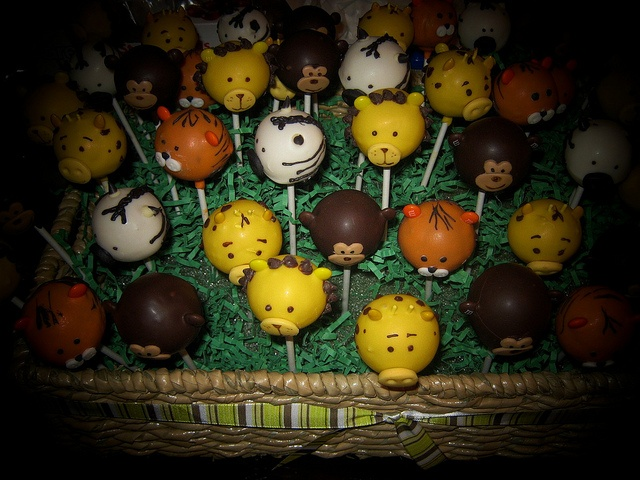 Jungle Cake Pops by Cake Maniac, via Flickr#Repin By:Pinterest++ for iPad#