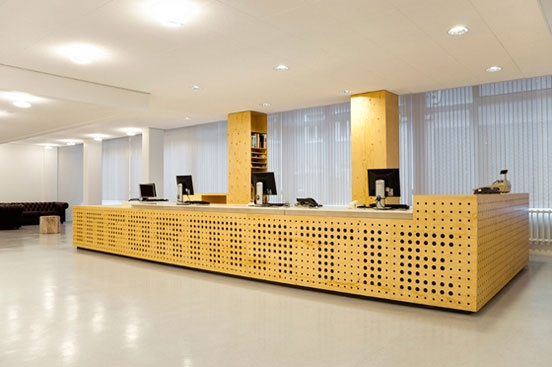 Library Interior Design in University of Amsterdam