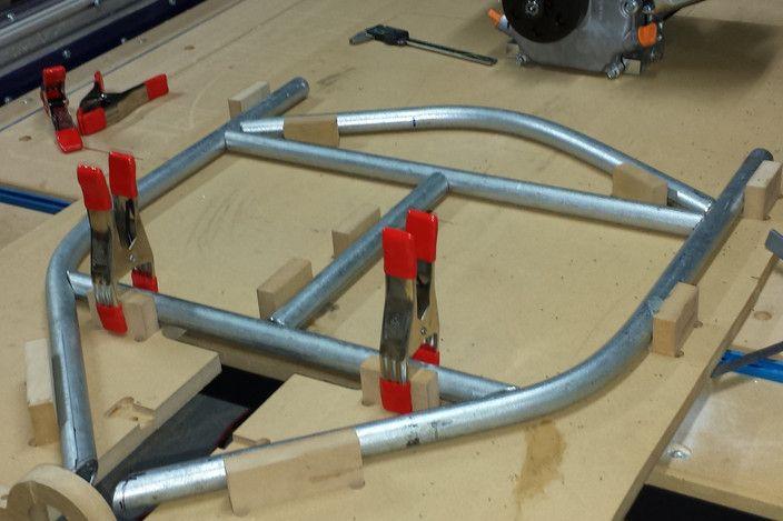 Motorized Drift Trike - Autodesk Inventor, STEP / IGES - 3D CAD model - GrabCAD