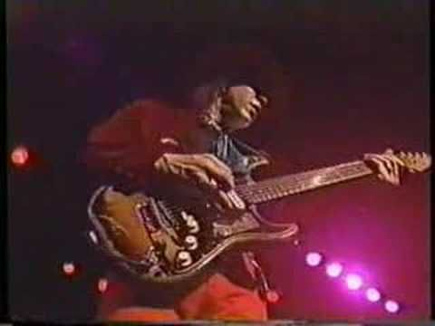 Stevie Ray Vaughan - Texas Flood (live)  I love this live version.  He slowed it down just a little and really poured his soul into it.  This is my favorite song of SRV, who I think was the best blues guitarist of all time.