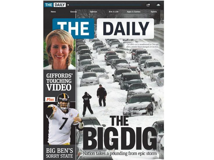 The Daily review   The Daily ushers in a new dawn for iPad newspapers with rich multimedia content Reviews   TechRadar