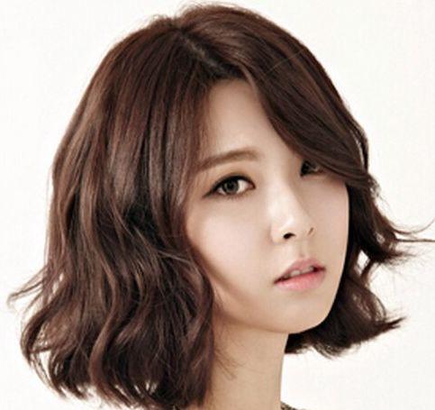 Remarkable 1000 Ideas About Korean Perm On Pinterest C Curl Digital Perm Short Hairstyles Gunalazisus