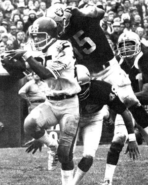 Pro Bowl 1973 And MVP For 10 TDs, Averaging Yrds/carry With 30  Receptions Highest In NFL At The Time.
