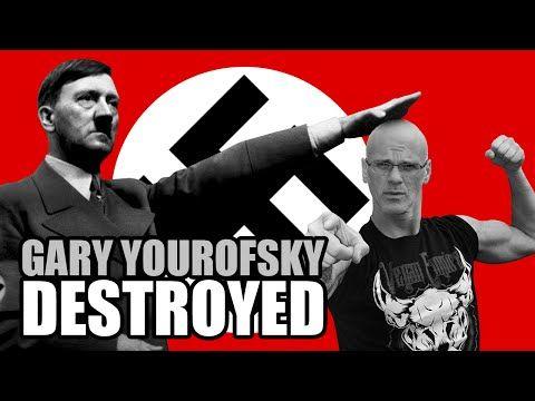 Nazi Aryan DESTROYS Gary Yourofsky (Best Speech Ever) - YouTube