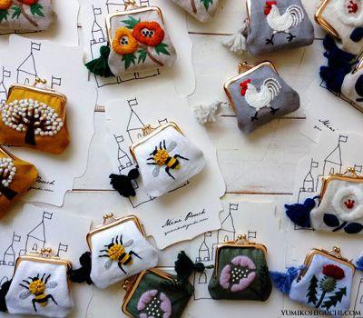 embroidery by yumiko higuchi