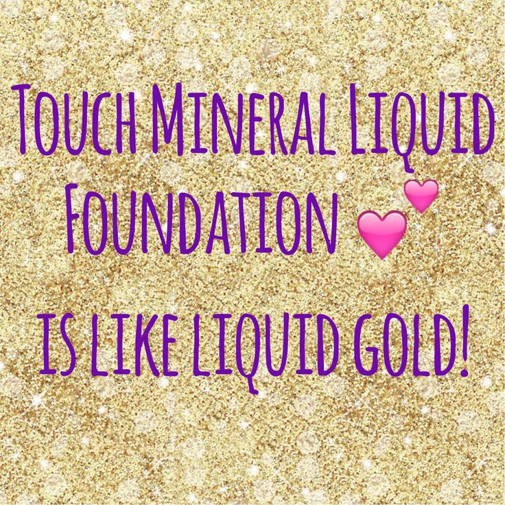 Seriously though.. Liquid GOLD!! Younique Touch Mineral Liquid Foundation is being called photoshop in a bottle!  www.mollyslashlounge.com