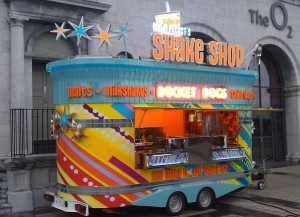 Eddie Rocket's Shake Shop On Wheels