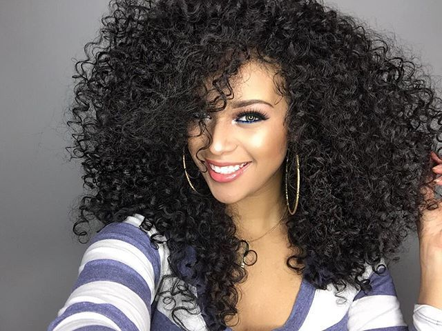 Styles For Natural Curly Hair: 276 Best Images About Curly Love On Pinterest