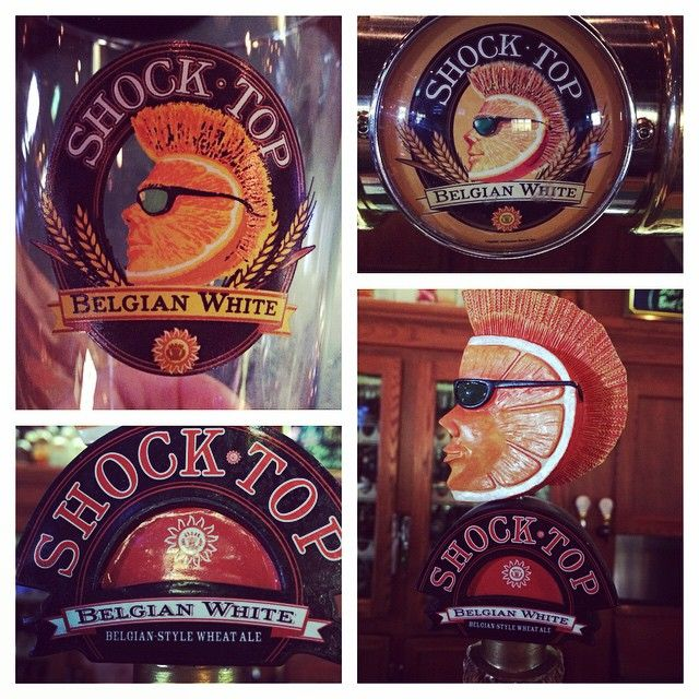 Shock Top Belgian White is back for the season!