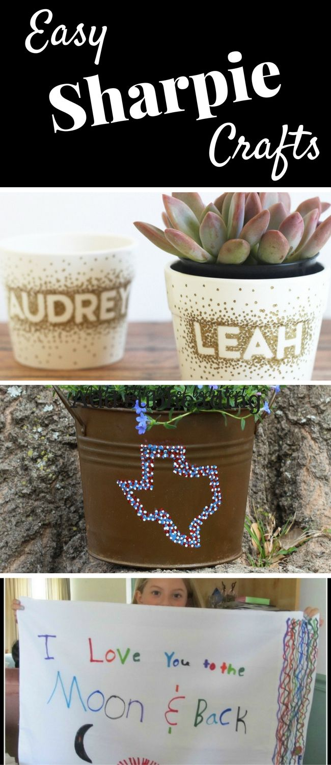 Fun and Easy Sharpie Crafts - P.S. I Love You Crafts Here are DIY mugs, T-Shirts, and other Sharpie Marker Projects to make.