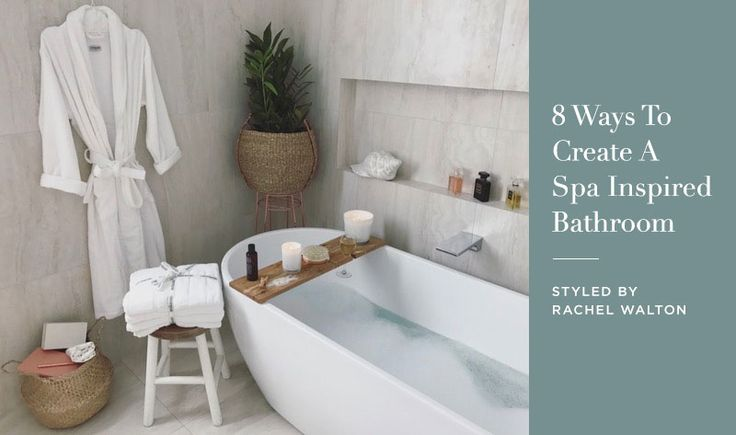 Home Spa Design Ideas: 17 Best Ideas About Spa Inspired Bathroom On Pinterest