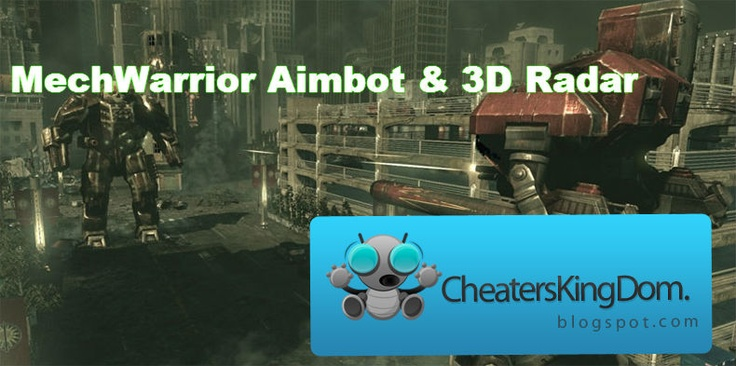 Download our mechwarrior aimbot from our page  http://www.gamesaimbot.com/2012/12/mechwarrior-aimbot.html