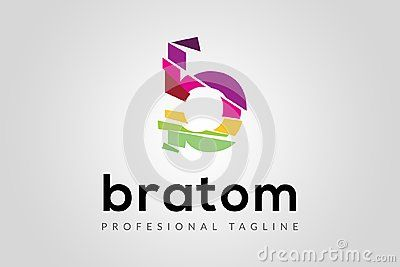 Bratom Logo, based on Letter B concept, you can use this logo for any business