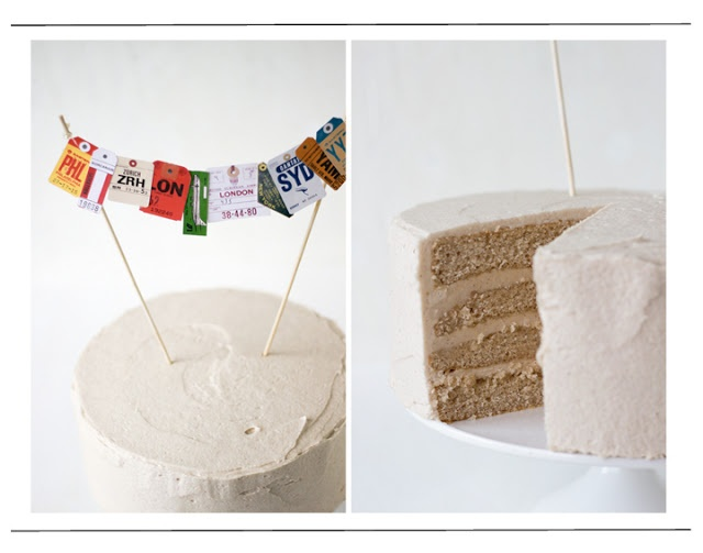 Always With Butter: Snickerdoodle Cake with Brown Sugar Buttercream