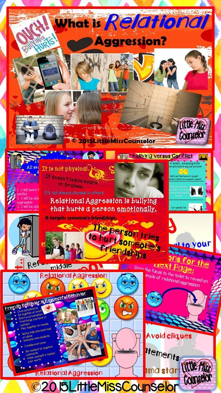 Bullying and Relational Aggression: PowerPoint Guidance   Social