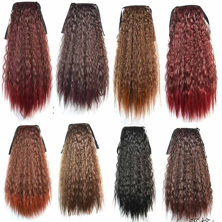 24inch+13 Colors 60G Afro Kinky Hair Ponytail Hairpieces Drawstring Ponytails Ombre hair Hair Extension Hair Pieces Buns peruca